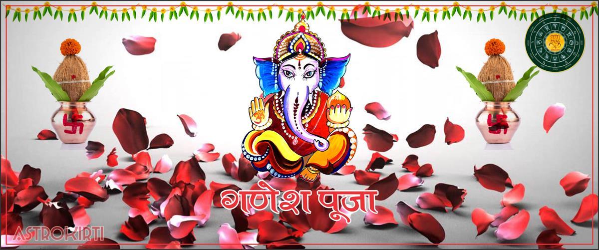 09- Ganesh Pooja Budhipriyaji Astrokirti